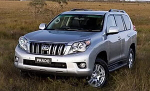 Toyota Prado Rent a Car in Lahore